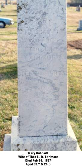 mary goodhue married 1839
